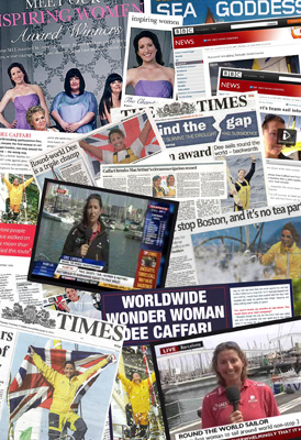 Press Cuttings Montage