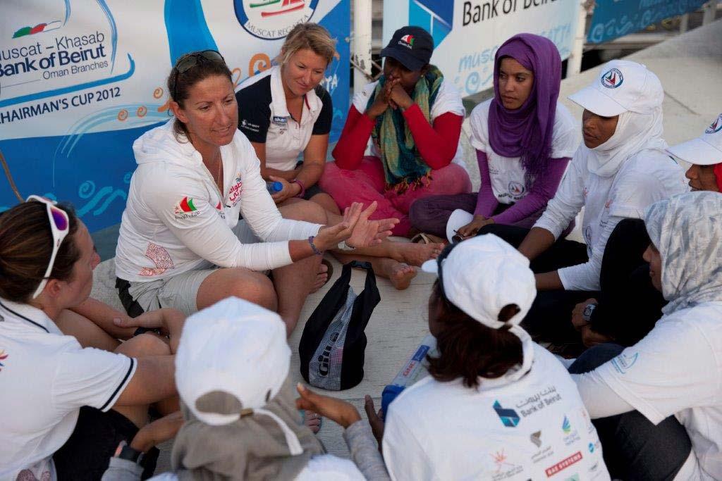 Dee Caffari - Oman Sail Womens Programme