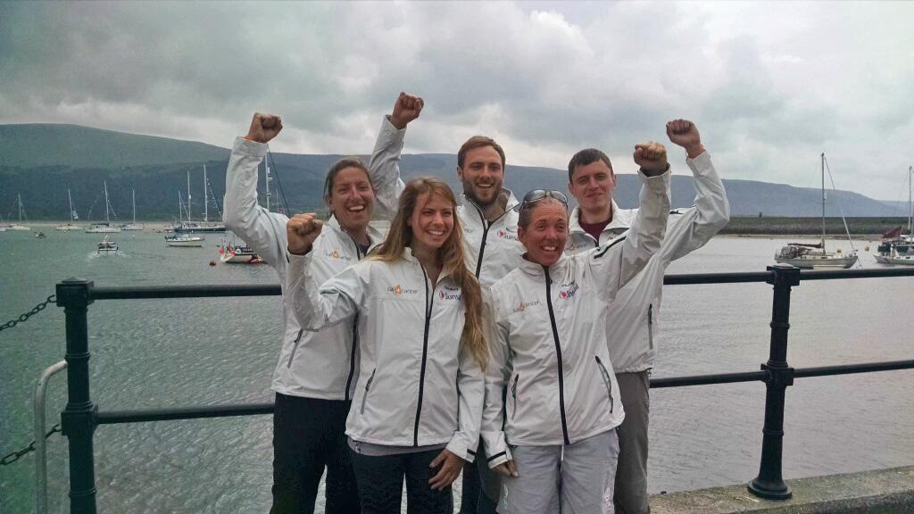 Team Caffari - Three Peaks for Charity