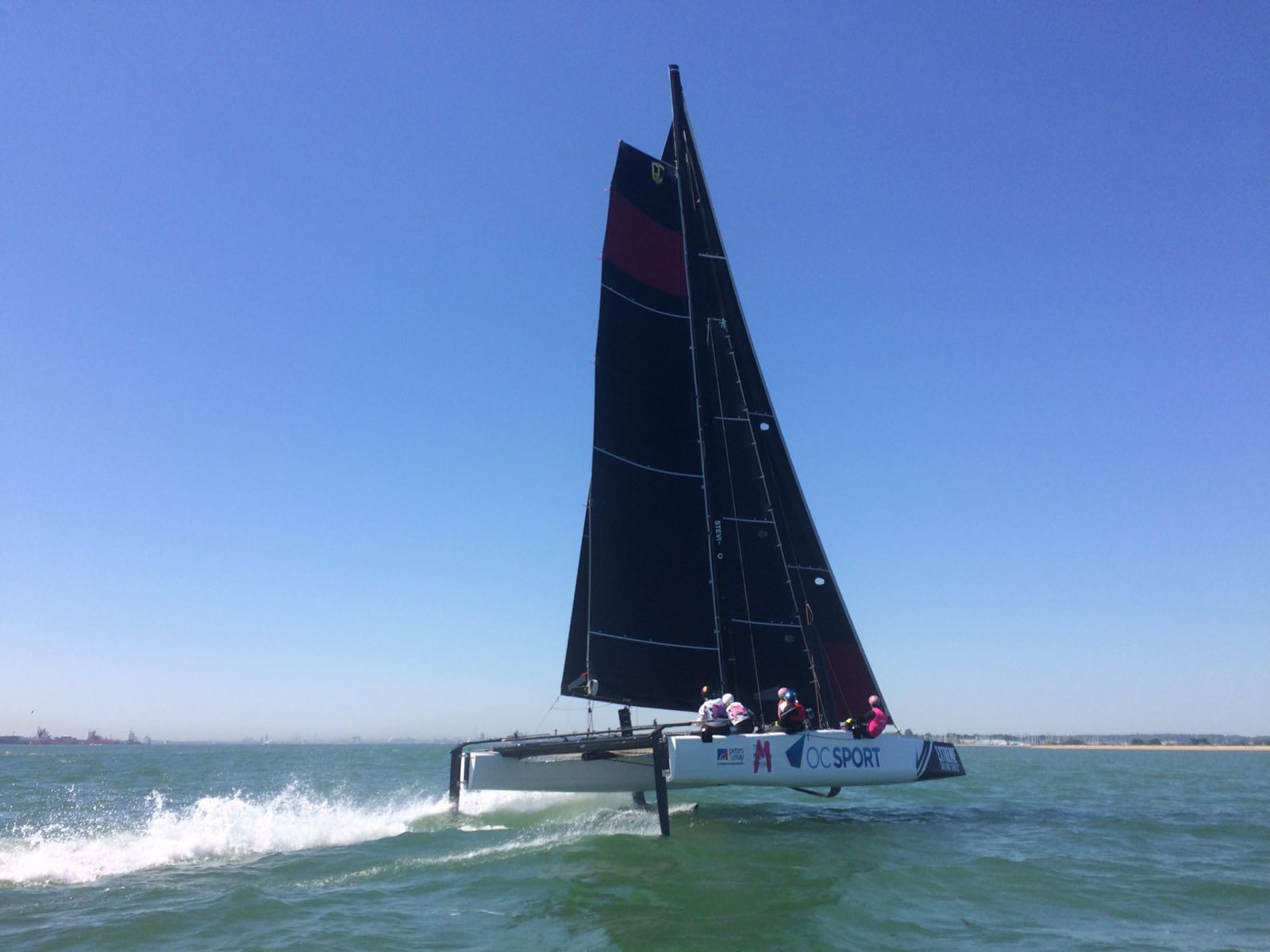 The Magenta Project – GC32 foiling catamaran