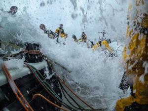 Leg Zero, Round Britain Island Race: DCIM144_VIRBVIRB0113- on board xx, . Photo by Jen Edney/Volvo Ocean Race. 02August, 2017