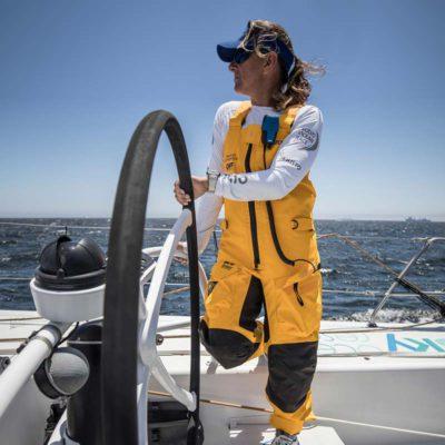 Dee Caffari- Volvo Ocean Race 2018