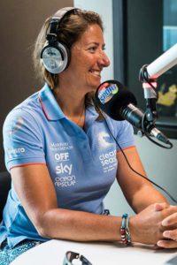 Dee Caffari - Radio Broadcaster