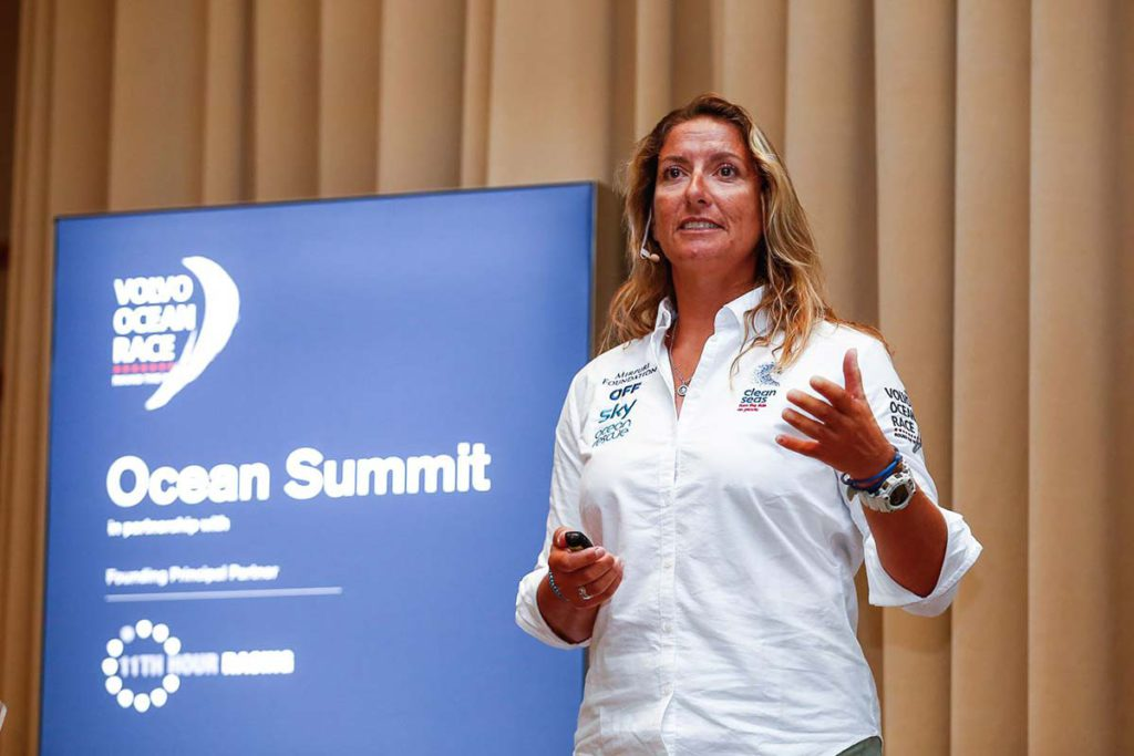 Dee Caffari - Ocean Summit