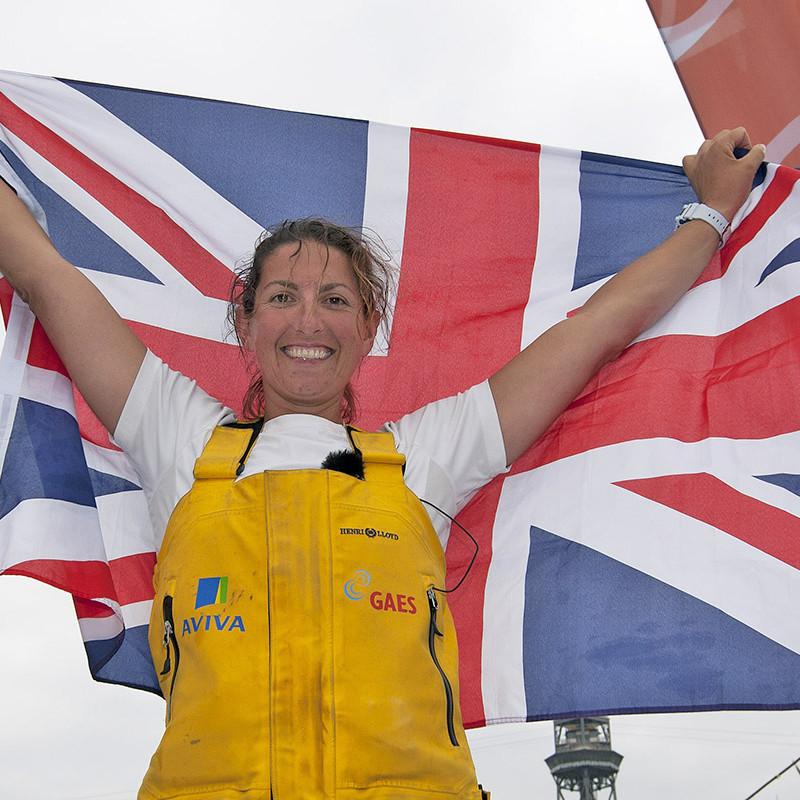 Dee Caffari - Barcelona World Race