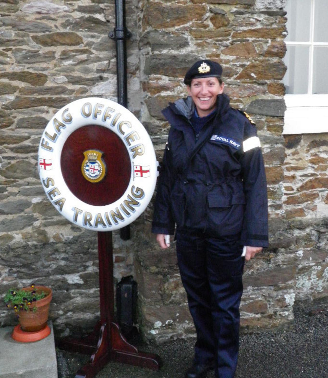 Dee Caffari Honorary Commander